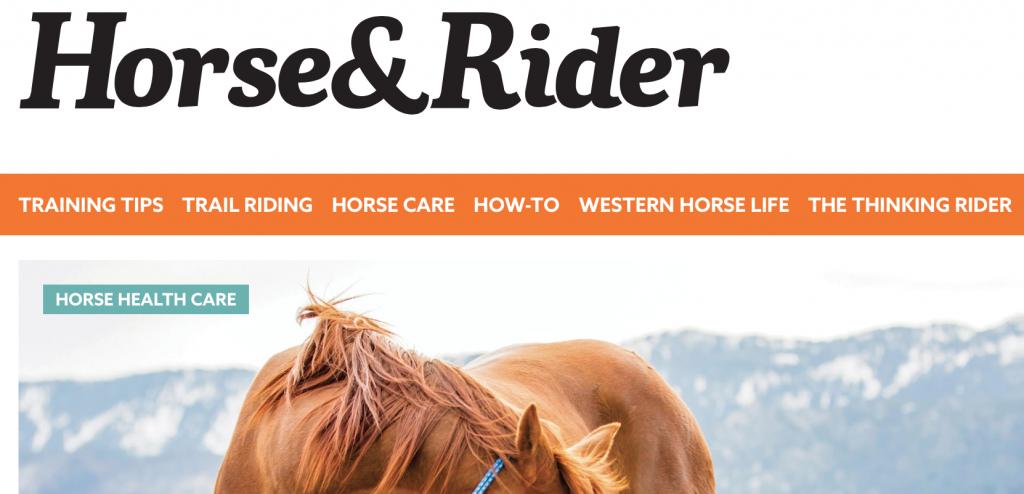 horse and rider mag