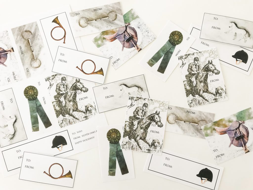 Equestrian Gift Tags